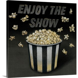 'Enjoy the Show Graphic Art Print by Great Big Canvas