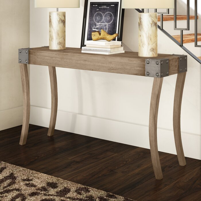 Janelle 54 Solid Wood Console Table