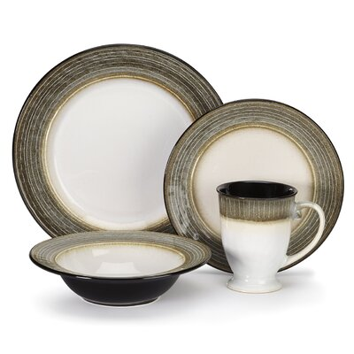 Loire 16 Piece Dinnerware Set Service for 4  sc 1 st  Wayfair & Pfaltzgraff Galaxy 16 Piece Dinnerware Set Service for 4 \u0026 Reviews ...