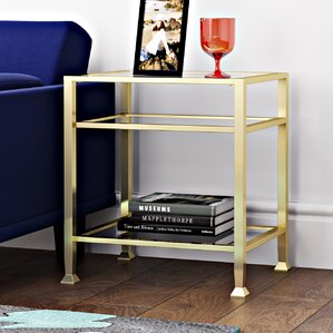 Arceo End Table by Varick Gallery