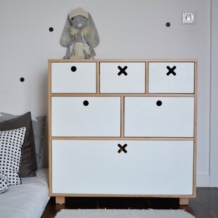 Ophelia 6 Drawer Chest By Ebern Designs