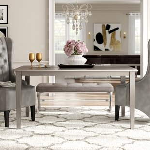Best Price Kitterman Dining Table By House of Hampton