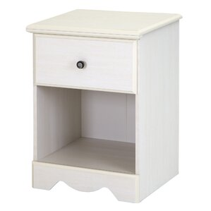 Country Poetry 1 Drawer Nightstand by South Shore