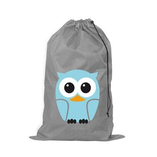 Zoomie Kids Owl Laundry Bag