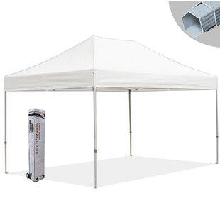 Eurmax Premium 10 Ft. W x 15 Ft. D Metal Pop-Up Canopy