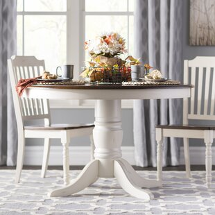 Whiteland Dining Table by Three Posts Wonderful