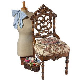 Design Toscano Victorian Sewing Side Chair