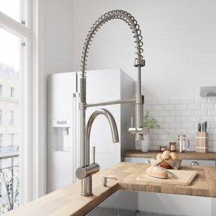 229c8abd3ec4 Dresden Pull Down Single Handle Kitchen Faucet with Optional Soap Dispenser