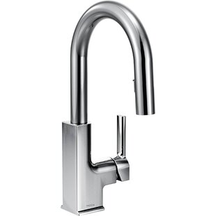 Review STo Pull Down Bar Faucet with Reflex System by Moen