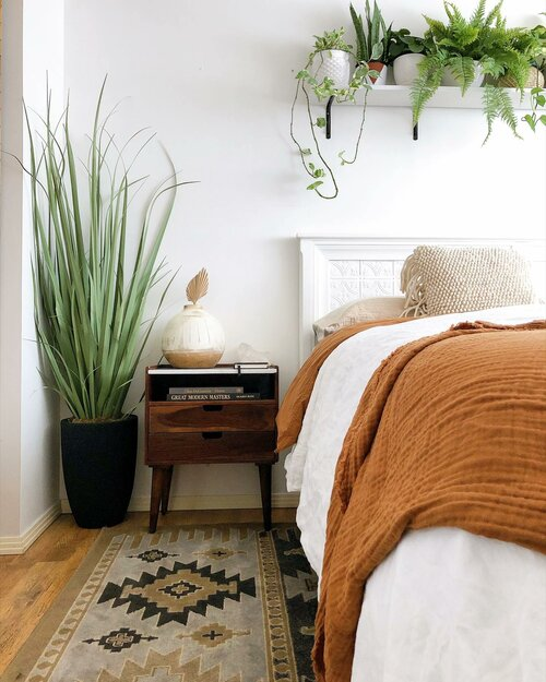 Shop this Room - Modern Farmhouse Bedroom Design