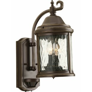 Alcott Hill Drumakeely 2-Light Outdoor Wall Lantern