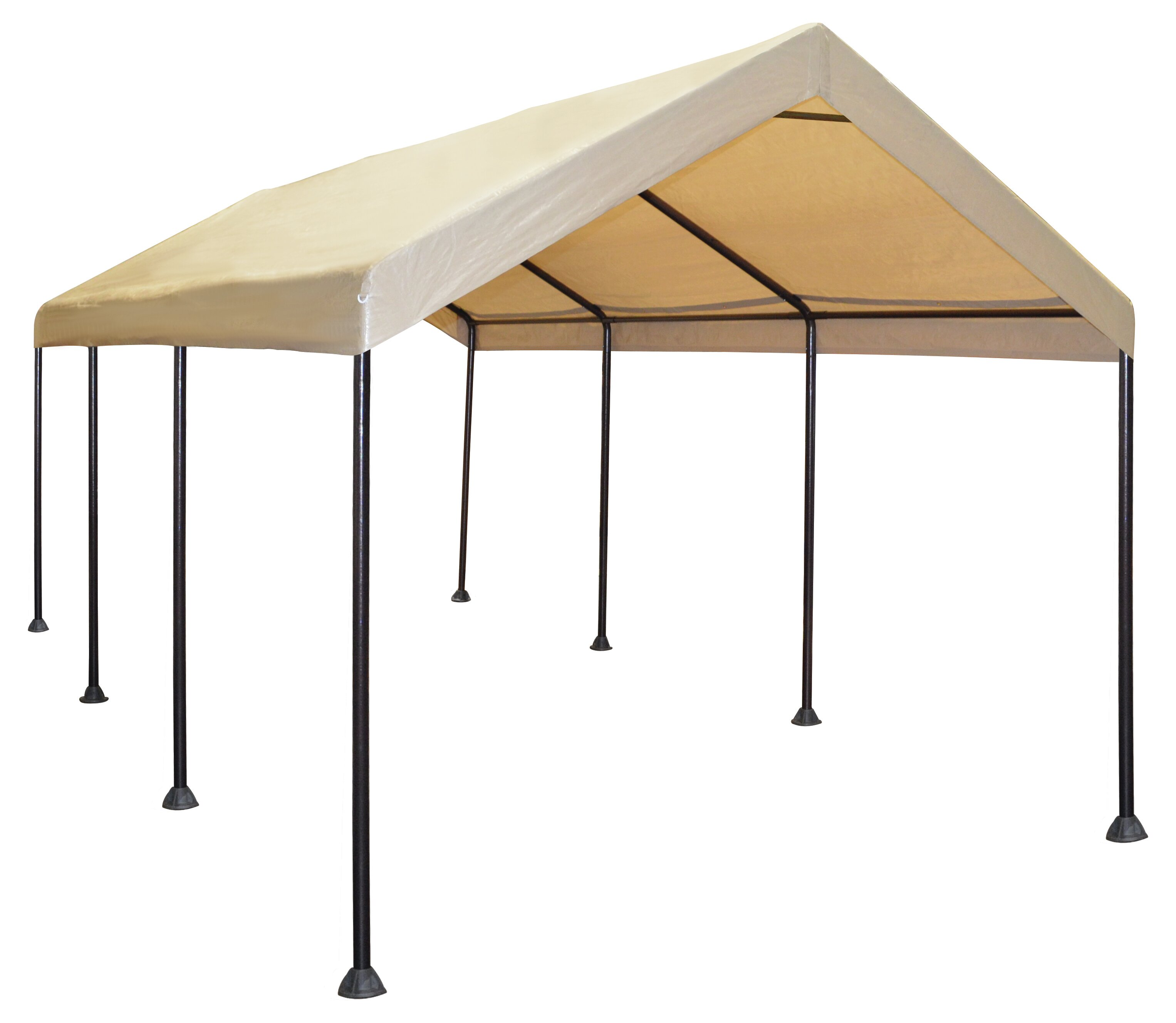 Caravancanopy Mega Domain 20 Ft W X 10 Ft D Metal Canopy Reviews Wayfair