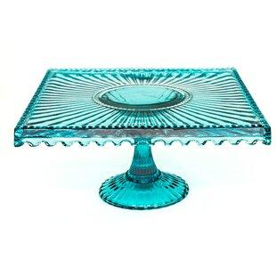 Hunsinger Square Glass Cake Stand  sc 1 st  Wayfair & Square Cake Stand With Dome | Wayfair