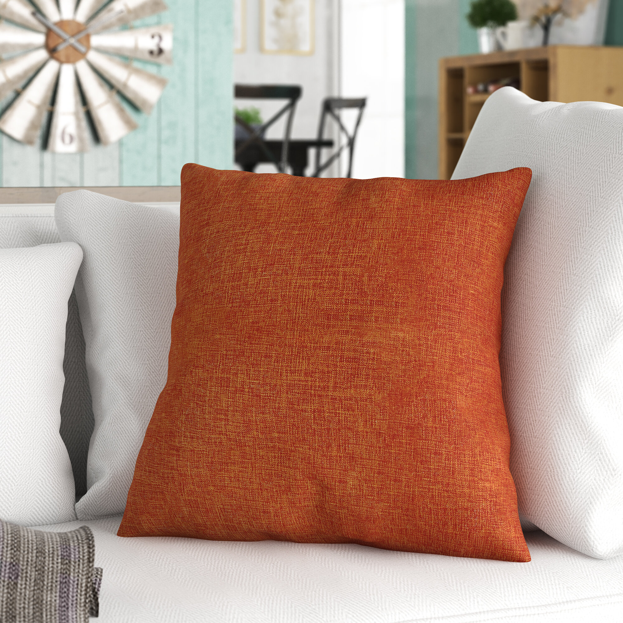Charlton Home Antonio Square Pillow Cover Reviews Wayfair