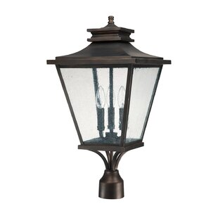 Compare prices Gentry Outdoor 3-Light Lantern Head By Capital Lighting