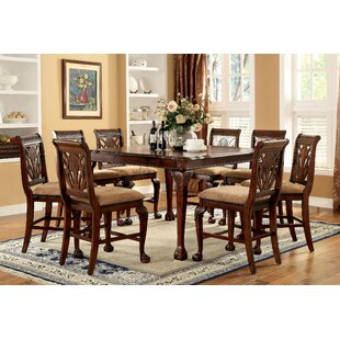 Olaughlin 9 Piece Pub Table Set