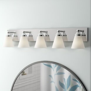 Andover Mills Carlock 5-Light Vanity Light