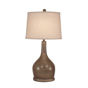 Yarbro Oval Pot with Long Neck 31 Table Lamp