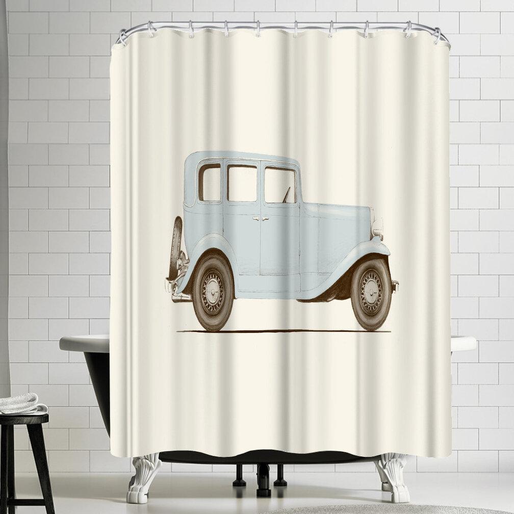 East Urban Home Florent Bodart Car Shower Curtain