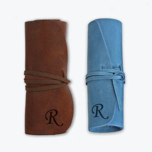 Read Reviews Personalized Initial Genuine Leather Jewelry Roll ByMonogramonline Inc.