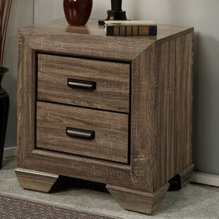 Weldy 2 Drawer Nightstand