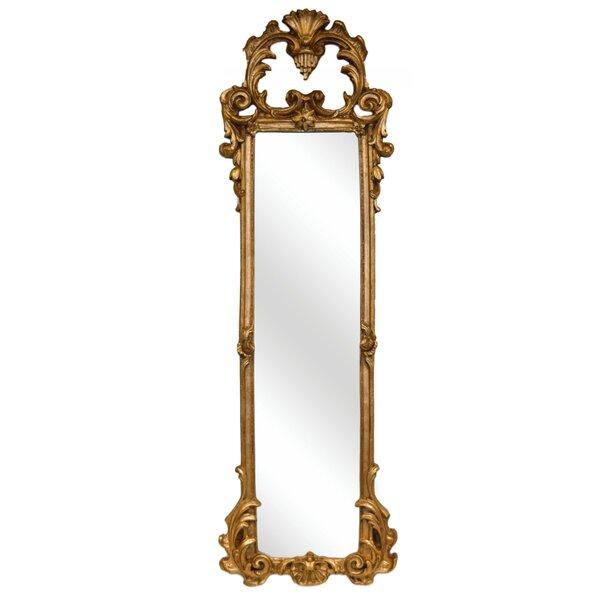 White Ornate Mirror Wayfair