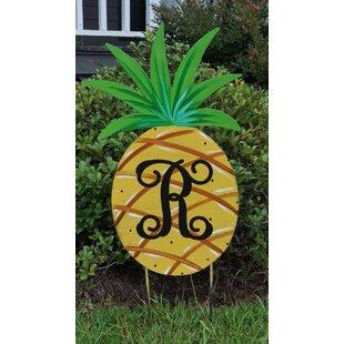 Pineapple Yard Garden Art