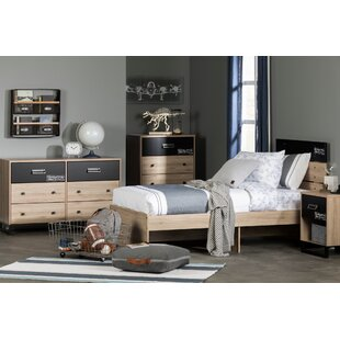 Read Reviews Induzy Industrial Platform Bed by South Shore Reviews (2019) & Buyer's Guide