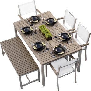 Modern Patio Dining Furniture modern outdoor dining sets | allmodern