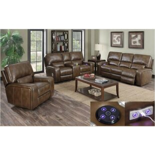 Darby Home Co Fareham 2 Piece Reclining L..