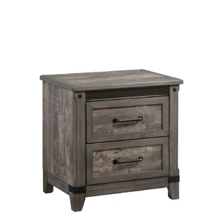 Forest Hill 2 Tone 2 Drawer Nightstand