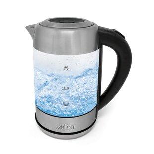 1.8 Qt. Cordless Glass Electric Tea Kettle