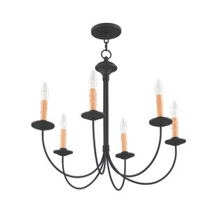 Darby Home Co Eberhart Traditional 6-Ligh..