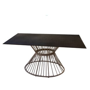 Bartelso Polyrattan Dining Table By Sol 72 Outdoor