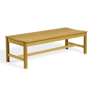 Onique Backless Wooden Picnic Bench