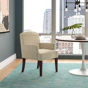 Arturo Horizontal Stripes Arm Chair by La..