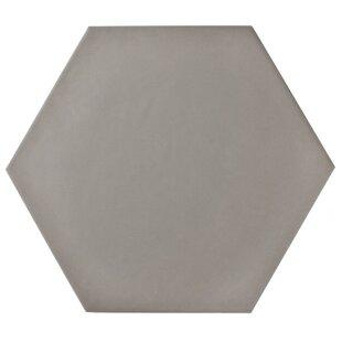 Hexitile 7 x 8 Porcelain Field Tile