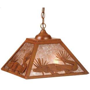 Meyda Tiffany 2-Light Dome Pendant