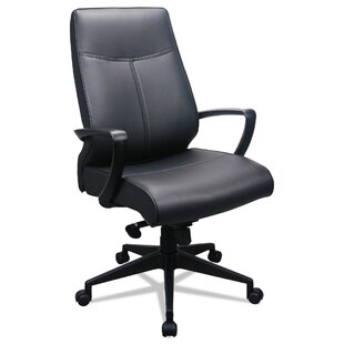 Ousley High-Back Genuine Leather Task Chair