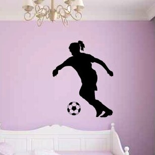 Autocollant Mural banksy balloon girl style decal Quotes Mots