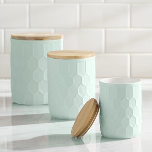 Green Kitchen Canisters U0026 Jars Youu0027ll Love   Wayfair