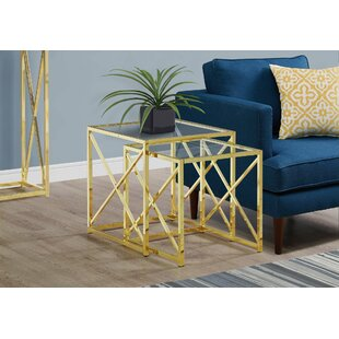 Geier 2 Piece Nesting Tables