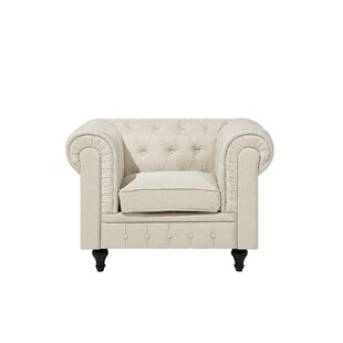 Alejandra Chesterfield Chair By Rosalind Wheeler