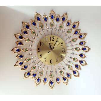 Ebern Designs Connley Wall Clock Wayfair
