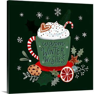 Christmas Gallery Wrapped Canvas Wall Art You Ll Love In 2021 Wayfair
