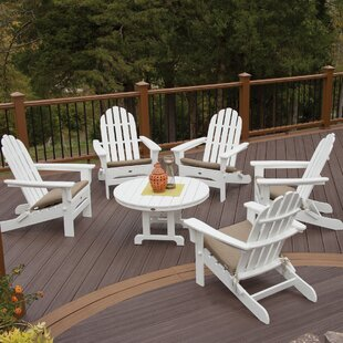 Trex Outdoor Cape Cod 6 Piece Conversation Set