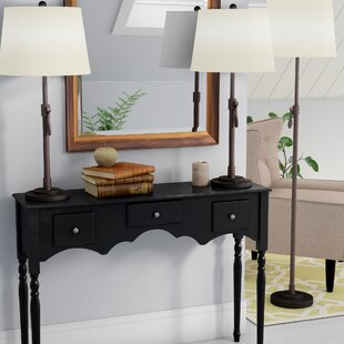Best Price Pouliot 3 Piece Table and Floor Lamp Set By Winston Porter