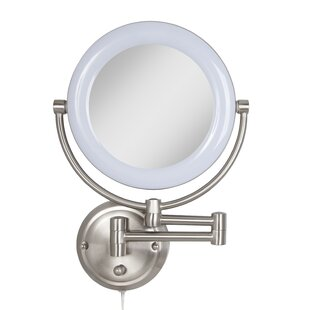 Read Reviews Soho Metal Surround Light Makeup Wall Mirror By Darby Home Co