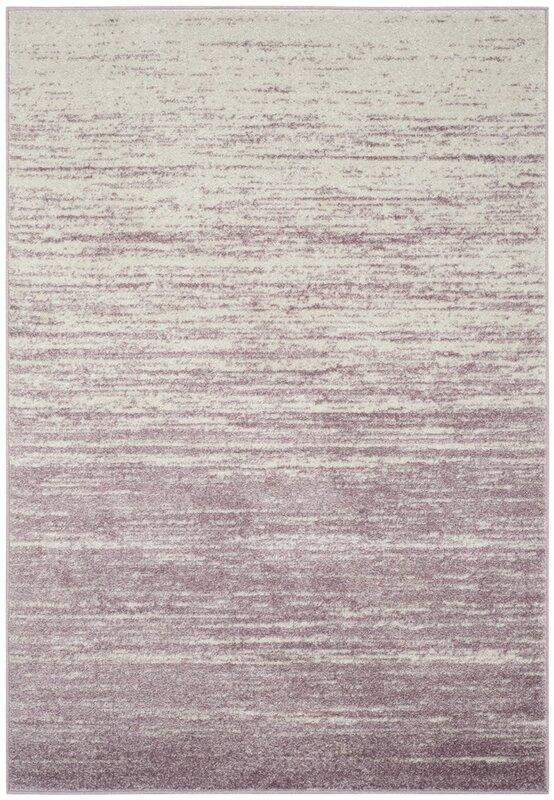Schacher Purple/Cream Area Rug