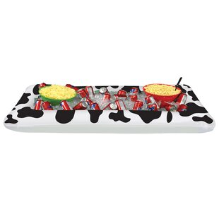 Farm 48 Can Inflatable Cow Print Buffet Cooler by The Beistle Company Spacial Price